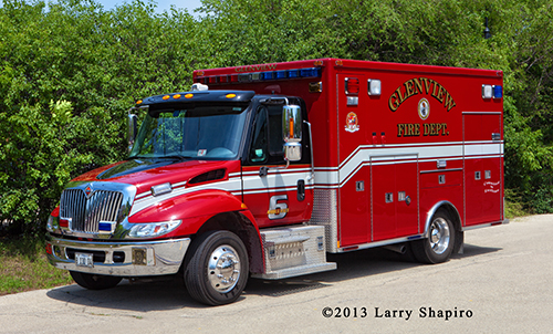Glenview FD ambulance