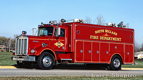 South Holland Fire Department Squad 669
