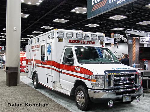 Wheeled Coach ambulance