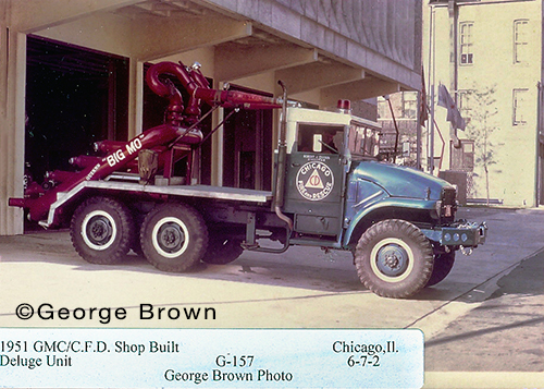 Chicago FD Turret Wagon Big Mo 6-7-2