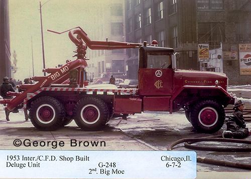 Chicago FD Turret Wagon Big Mo 6-7-2
