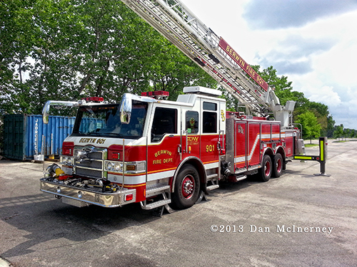 Berwyn Fire Department Quint 901