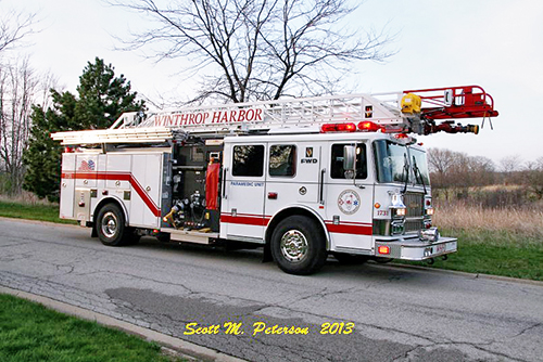 Winthrop Harbor Truck 1731