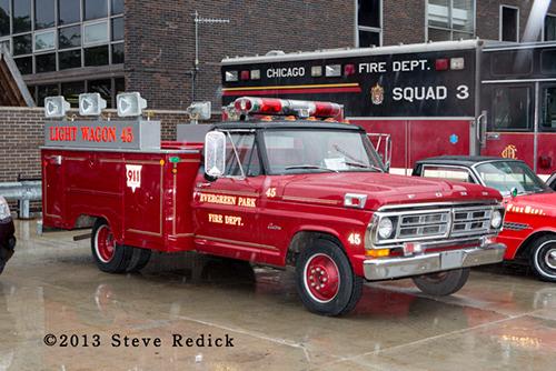 Evergreen Park Fire Department light wagon
