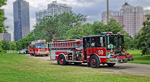 Chicago FIre Department Engine 59