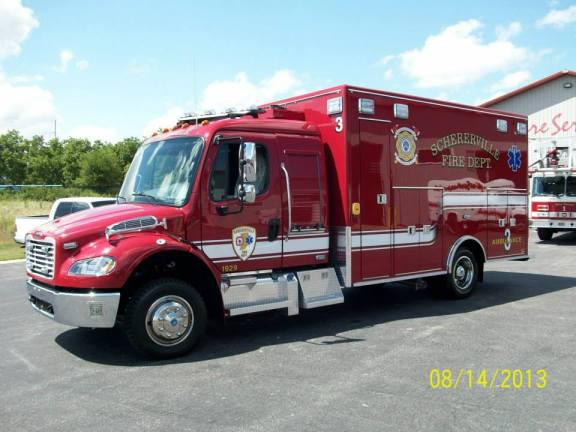 Schererville Fire Department ambulance