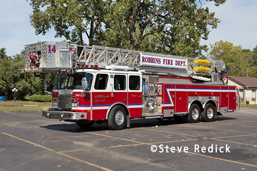 PoseRobbins Fire Department apparatus