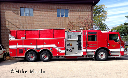 Bloomingdale FIre Protection District Tender 21
