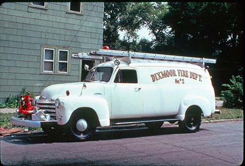Dixmoor Fire Department history