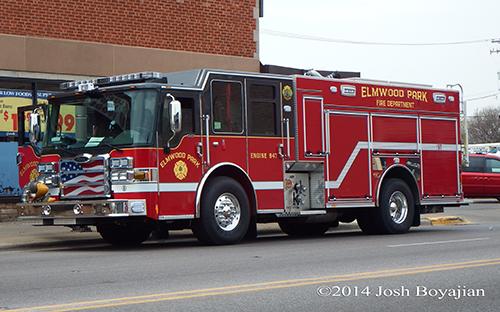 Pierce Dash CF PUC fire engine