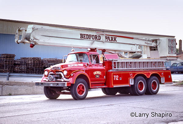 1st Snorkel fire truck built for the fire service