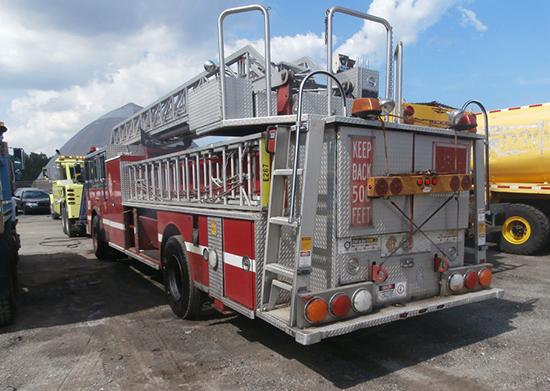 fire trucks used for tv show. Black Bedroom Furniture Sets. Home Design Ideas