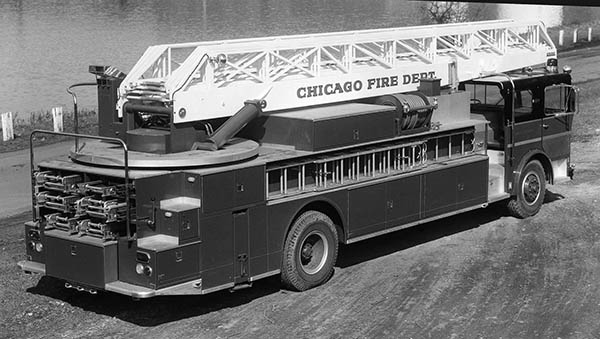 Chicago Ward LaFrance fire truck