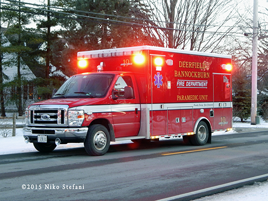 Deerfield-Bannockburn FPD Ambulance 19
