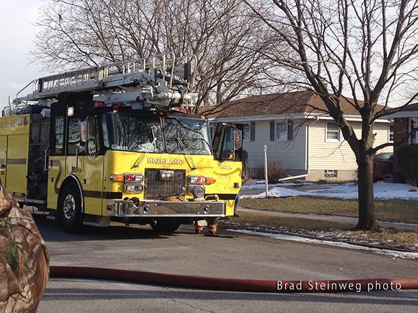 Saulsbury Tele-Squrt fire truck