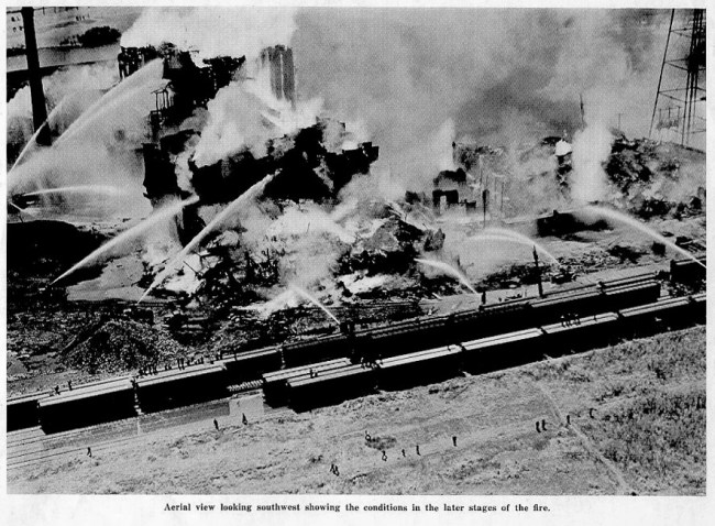 Underwriter's report on the Grain Elevator Conflagration of 1939