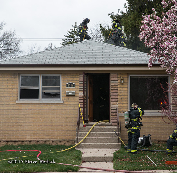 house after fire
