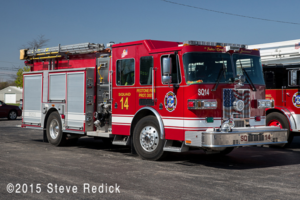 Sutphen fire engine
