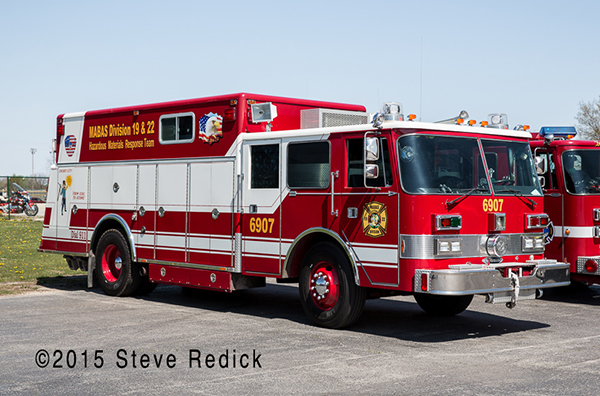 Pierce heavy rescue squad