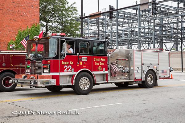 Stone park FD fire engine