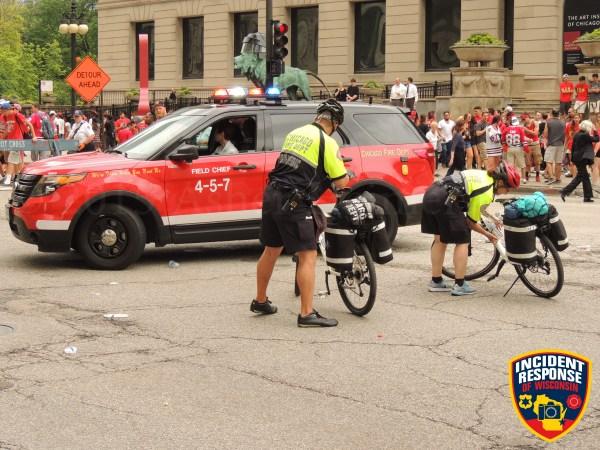 Chicago FD bike medics