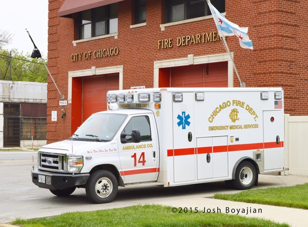 Chicago FD Ambulance 14