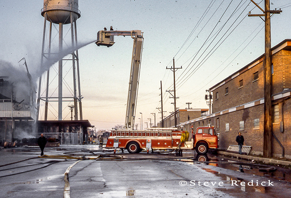 Sticky Fire Department at the Hawthorne Race Track grandstand fire of 1978