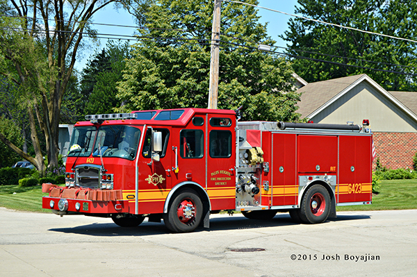 Palos Heights FPD fire engine