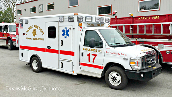 new ambulance for CFD Ambulance 17
