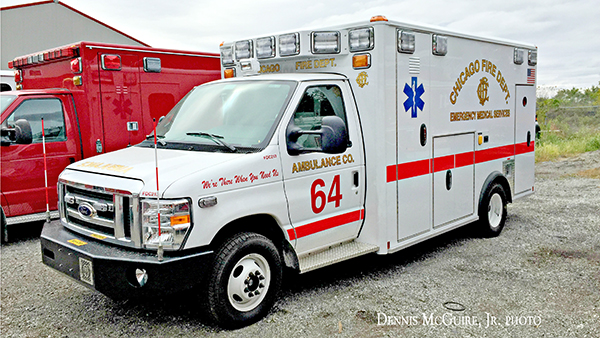 new ambulance for CFD Ambulance 64