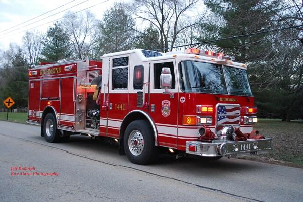 Richmond FD fire engine