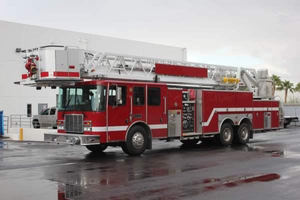 Former Calumet Park FD (IL) fire truck