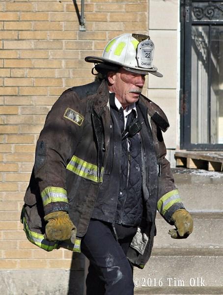 Chicago FD Battalion Chief