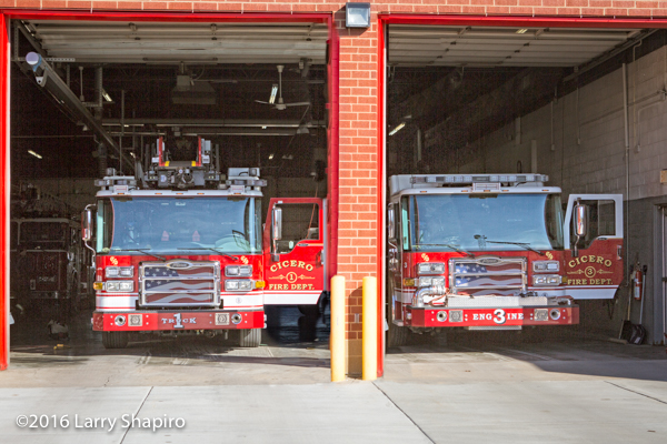 Cicero FD fire station