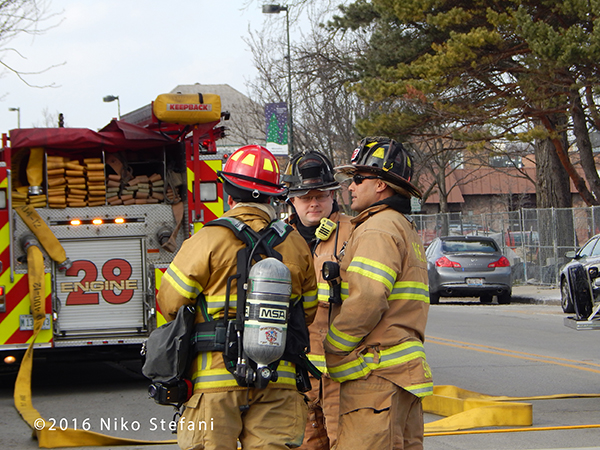 Highland Park firefighters