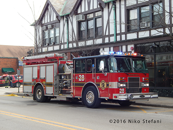 Winnetka FD Engine 28