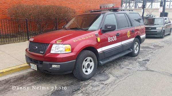 Chicago FD Ford Explorer