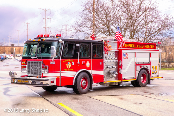 Northfield Fire Rescue Engine 29