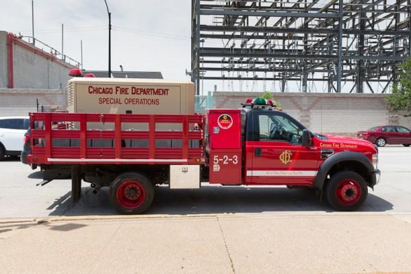 Chicago FD Special Operations Compressor Unit 5-2-3