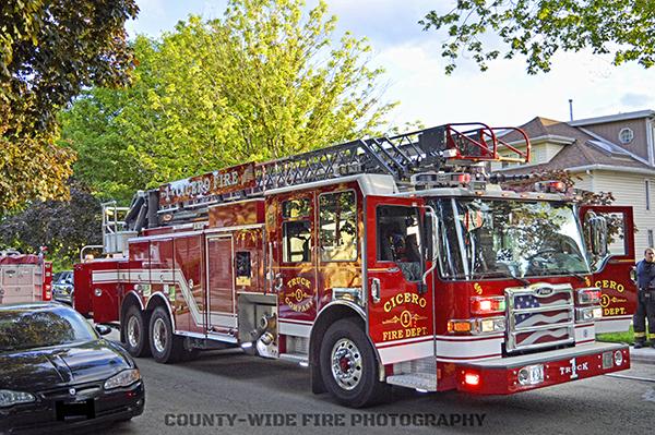 Cicero FD fire truck