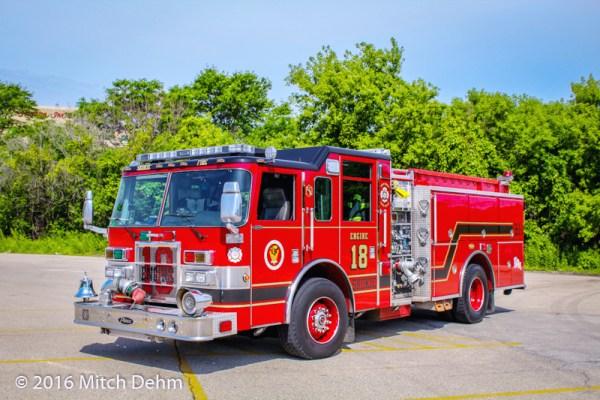 Skokie FD Engine 18