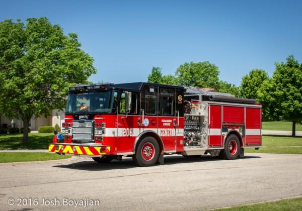 Geneva Fire Department Engine 208