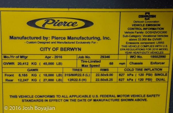 Pierce law tag