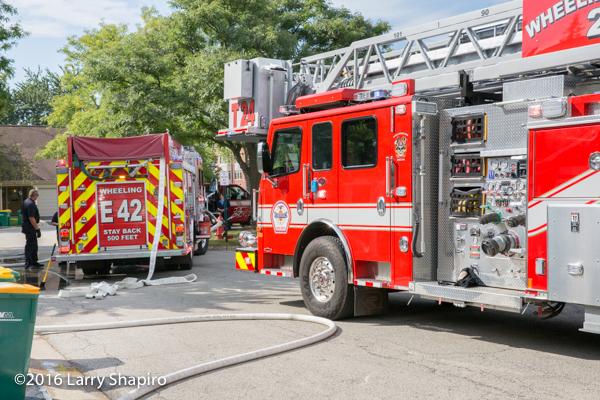 Rosenbauer America fire trucks in Wheeling IL