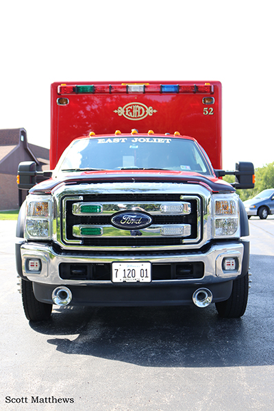 Ford F-450/Horton ALS ambulance
