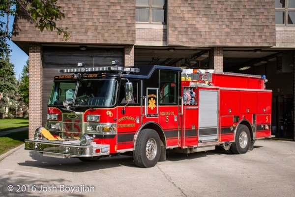 Downers Grove FD Engine 5