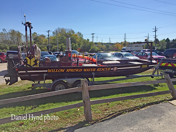 Tri-State Fire Protection District boat