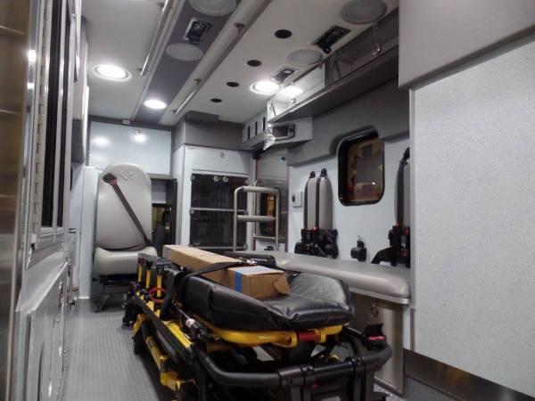ambulance interior