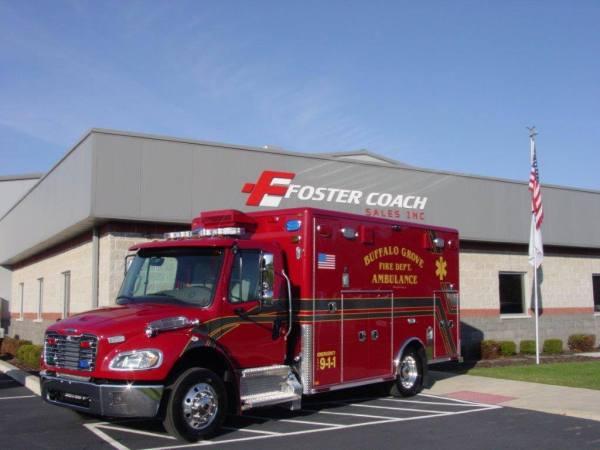 Buffalo Grove FD ambulance