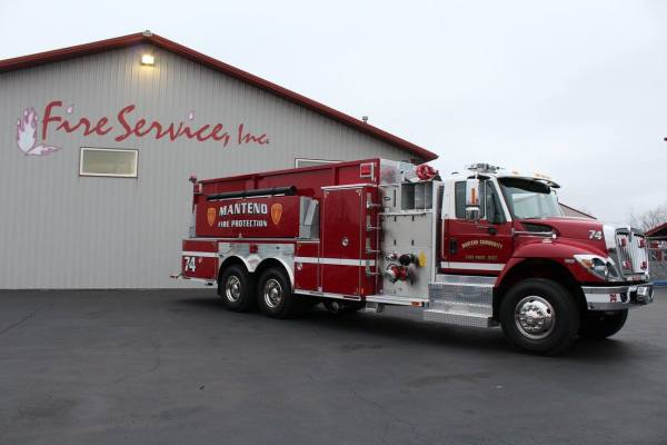 IHC/E-ONE pumper tanker for the Manteno Community FPD